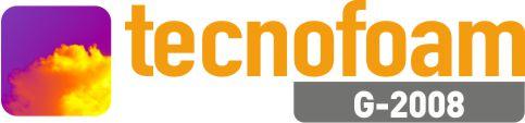 Logotipo Tecnofoam espuma de poliuretano